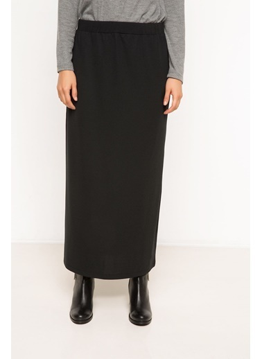 DeFacto Uzun Etek Siyah